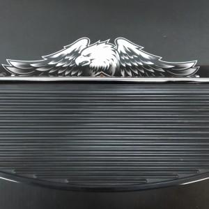 Plataforma conductor Harley-Davidson - Cromado