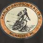 Camiseta Harley-Davidson® Mens Black Racing Circle