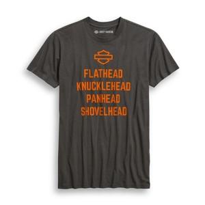 Camiseta Harley-Davidson® Mens Engine List Tee