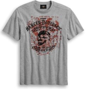 Camiseta Skull hombre diseño calavera Genuine Motorclothes Harley-Davidson®