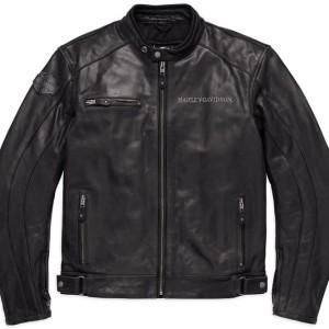 Chaqueta Harley-Davidson® Men's Reflective Skull Jacket Leather