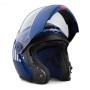 Casco Harley-Davidson® Mens Myer J08 Modular Helmet - Blue