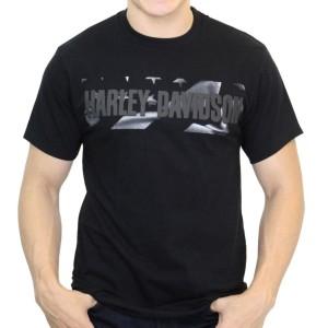 Camiseta para hombre Cantabria Harley-Davidson® Mens Flannigan Flag H-D