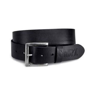 Cinturón Harley-Davidson® Debossed HDMC Leather Belt - Black