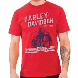 Camiseta para hombre Cantabria Harley-Davidson® Mens Self Control