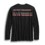 Camiseta hombre Harley-Davidson® Men Dual Stripe Henley