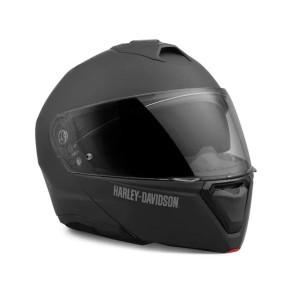 Casco modular Harley-Davidson® Capstone Sun Shield II H31 - Negro mate - CE