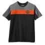 Camiseta hombre Harley-Davidson® Men Colorblock B&S Logo