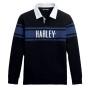 Camiseta polo hombre Harley-Davidson® Men H-D Knit Rugby Shirt