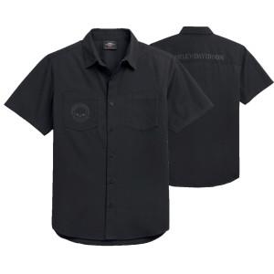 Camisa hombre Harley-Davidson® Men Skull Logo - Negro