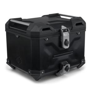 Maleta Superior en Aluminio Harley-Davidson® Aluminum Top Case – Negro – Pan America