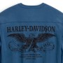 Camiseta hombre Harley-Davidson® Men Freedom Henley