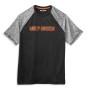 99063-21VM Camiseta hombre Harley-Davidson® Men Performance Colorblock Wicking Tee (1)