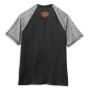 99063-21VM Camiseta hombre Harley-Davidson® Men Performance Colorblock Wicking Tee (4)